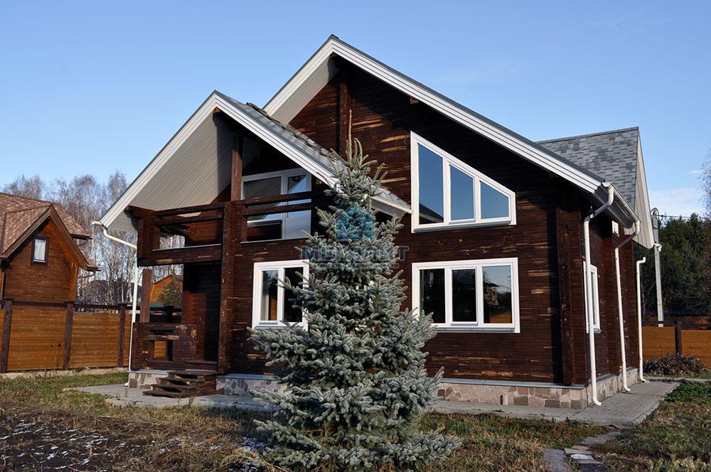 Дом в поселке Вороновка: комфорт в гармонии с природой (миниатюра №4)