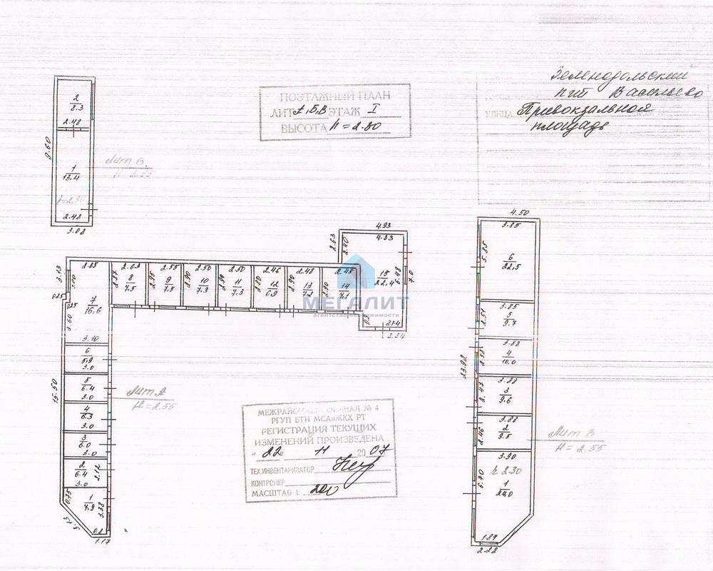 Продажа  Офисно-торговые Привокзальная, 1000 м2  (миниатюра №4)