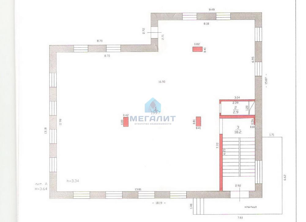 Аренда  офисно-торговые Маршала Чуйкова 53 А, 17 м²  (миниатюра №2)