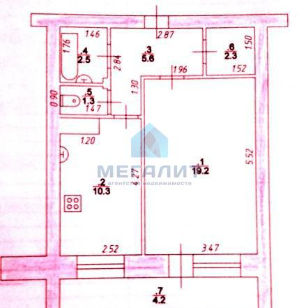 Аренда 1-к квартиры Победы 120, 45 м²  (миниатюра №14)