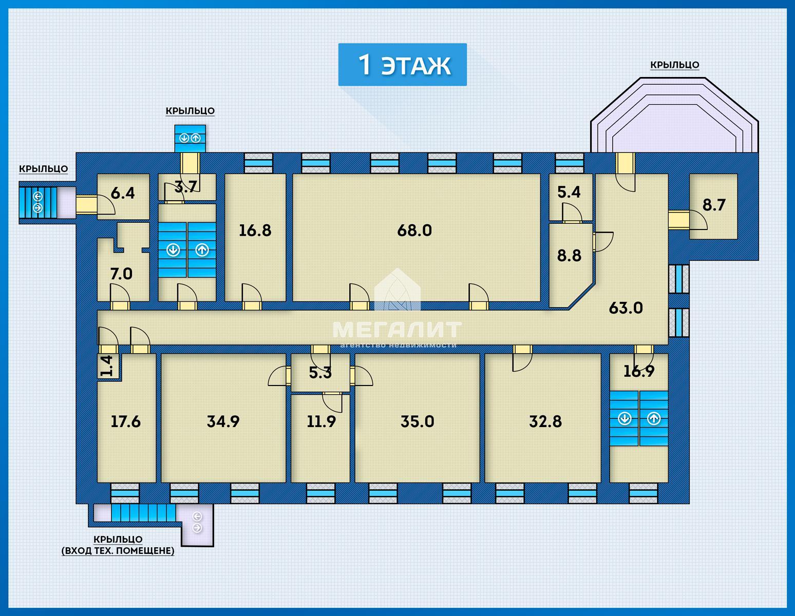 Продажа  помещения свободного назначения Голубятникова 26а