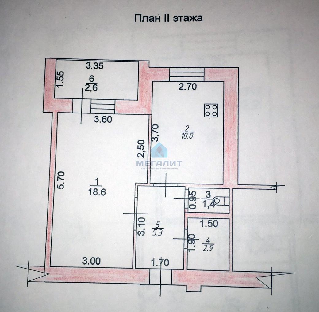 Продажа 1-к квартиры Осиновская, 43 м²  (миниатюра №5)