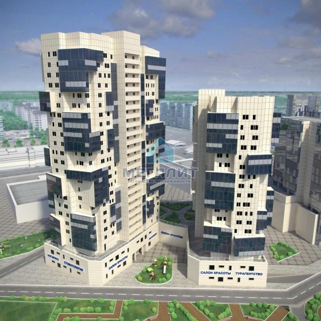 Продажа 3-к квартиры Рихарда Зорге, 110.3 м² (миниатюра №3)