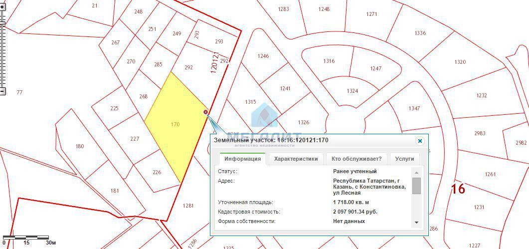 Продажа  участка Лесная, 17 сот.  (миниатюра №9)
