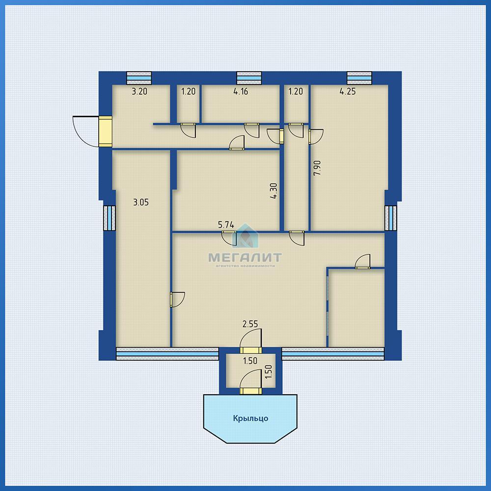Продажа  офисно-торговые Тихорецкая 7, 200 м² (миниатюра №5)