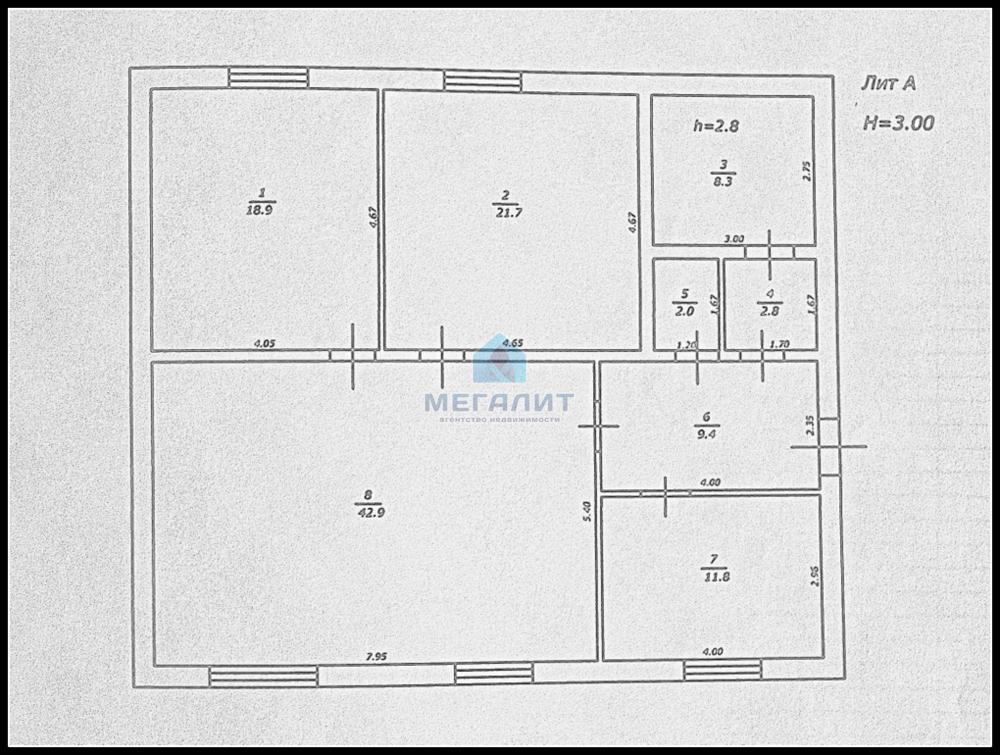 Продажа  дома Пестрецы, Автомобилистов, 0 м² (миниатюра №5)