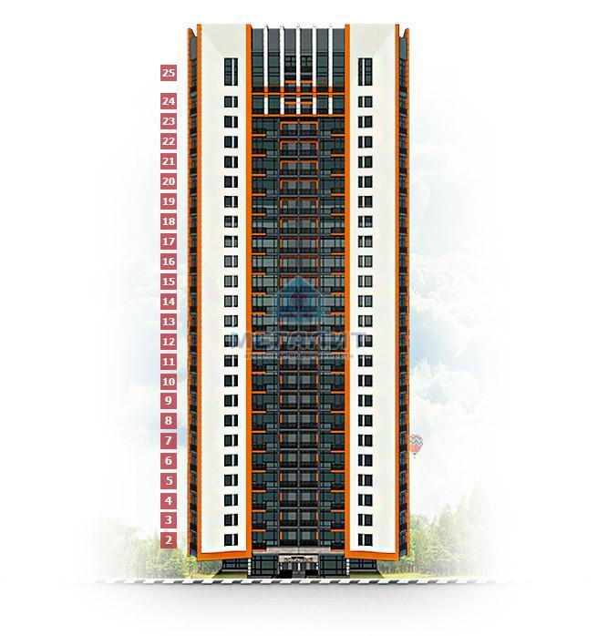 Продажа 3-к квартиры Даурская 16Г, 96 м²  (миниатюра №5)