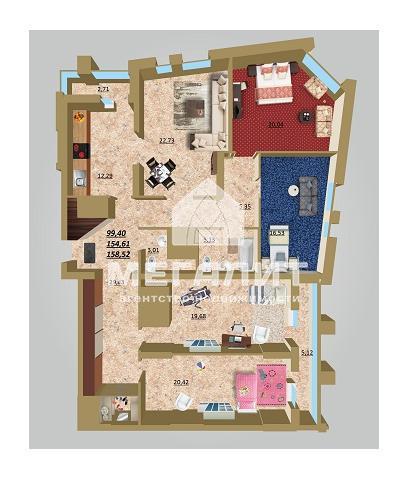 Продажа мн-к квартиры Даурская 34