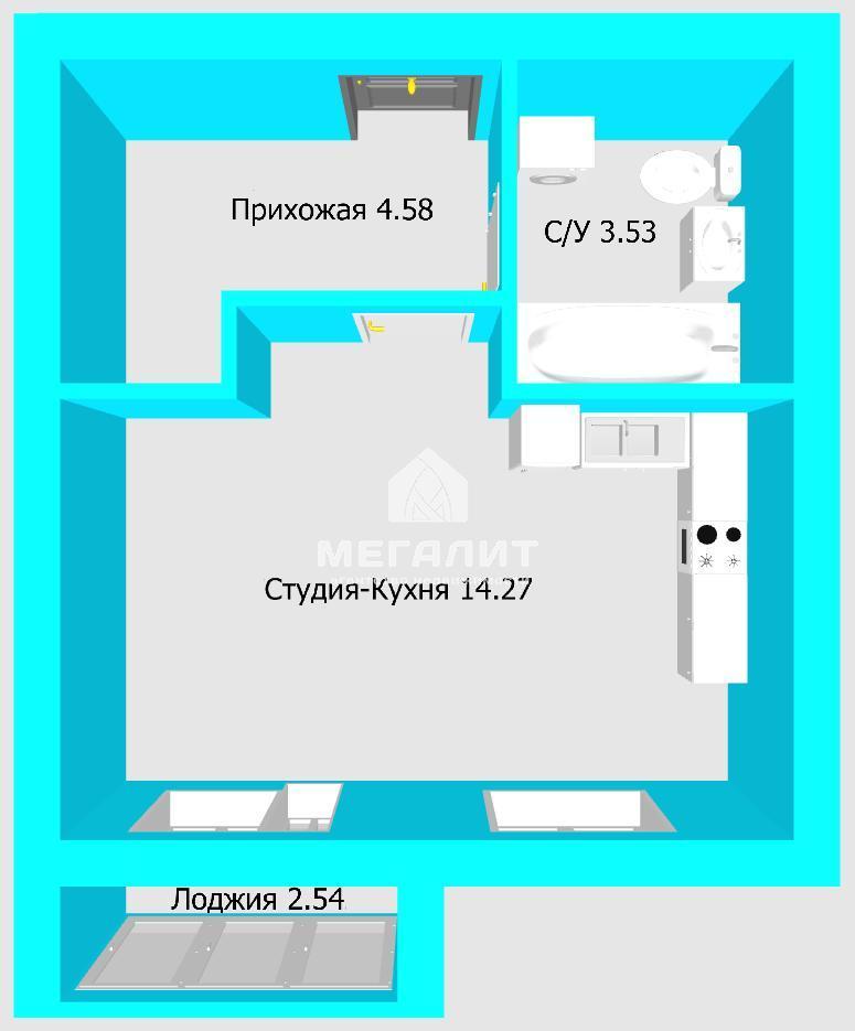 Продажа 1-к квартиры Петра Гаврилова 4.16