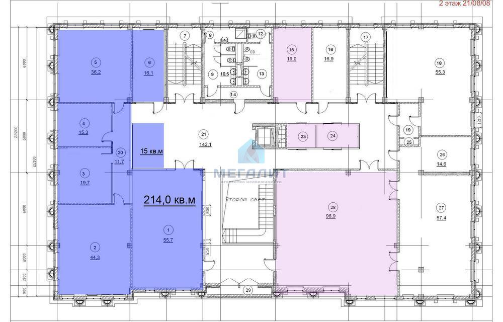 Аренда  офисно-торговые Петербургская 37, 394 м²  (миниатюра №11)