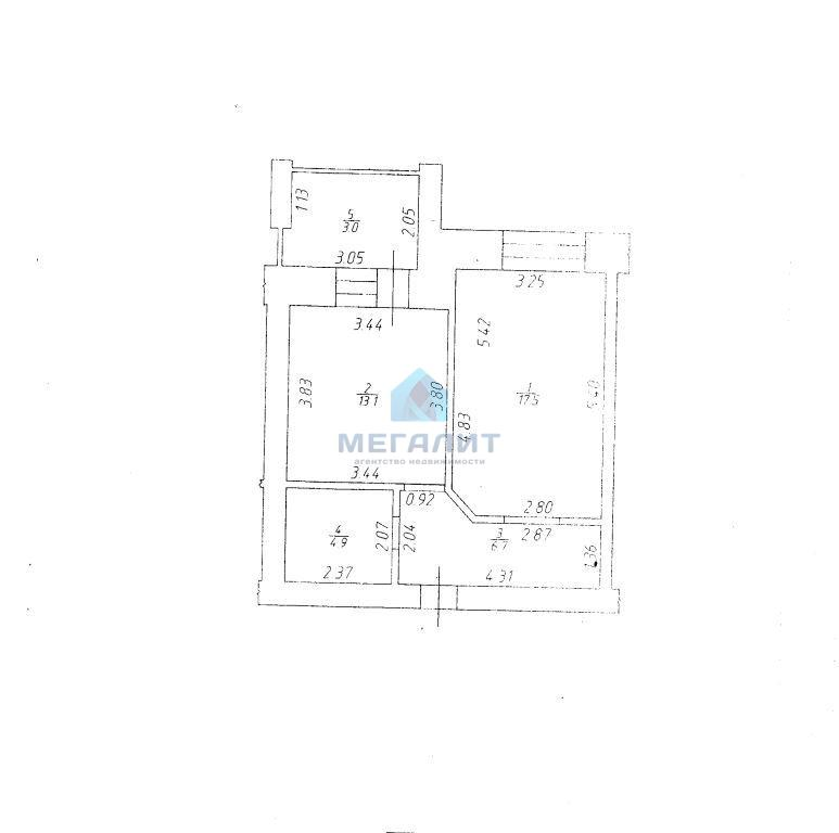Продажа 1-к квартиры Сибгата Хакима 37, 48 м² (миниатюра №9)