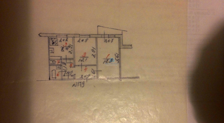 Продам уютную 2-х к. квартиру в спальном районе (миниатюра №6)