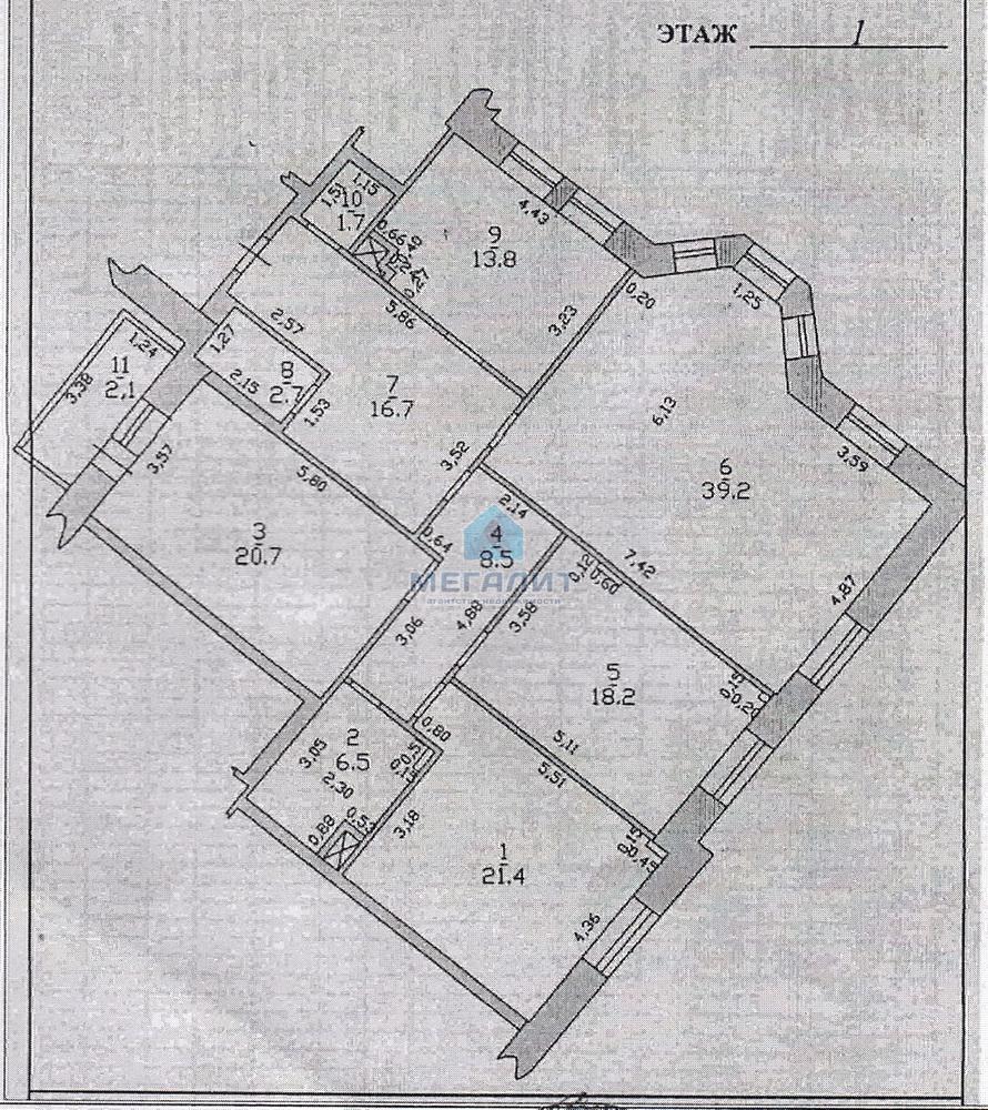 Продажа 4-к квартиры Ульянова-Ленина 47, 151.1 м² (миниатюра №2)