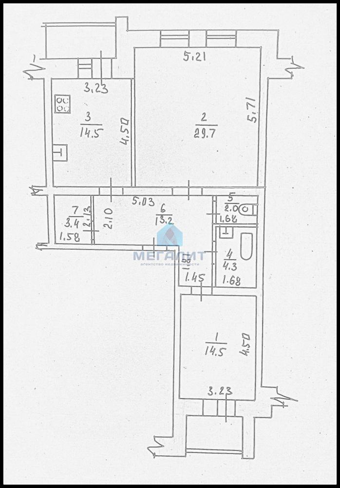 Продажа 2-к квартиры Четаева 28, 85 м² (миниатюра №8)