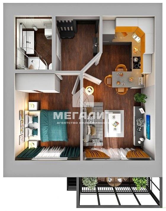 Продажа 1-к квартиры Николая Ершова строение 10