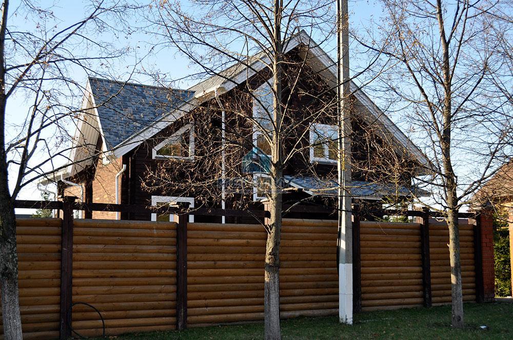 Дом в поселке Вороновка: комфорт в гармонии с природой (миниатюра №16)