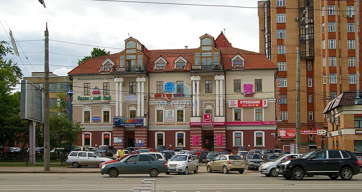 Аренда  офисно-торговые Николая Ершова 18