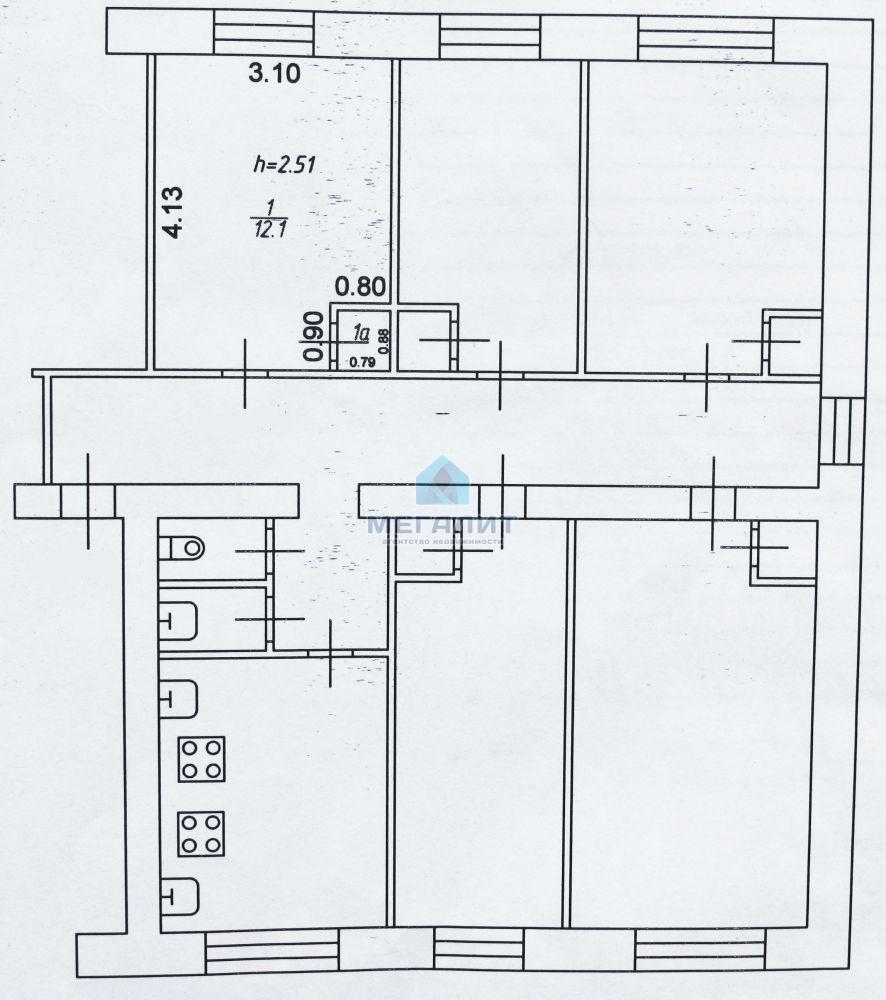 Продаю комнату в кирпичном доме на Восстания (миниатюра №3)