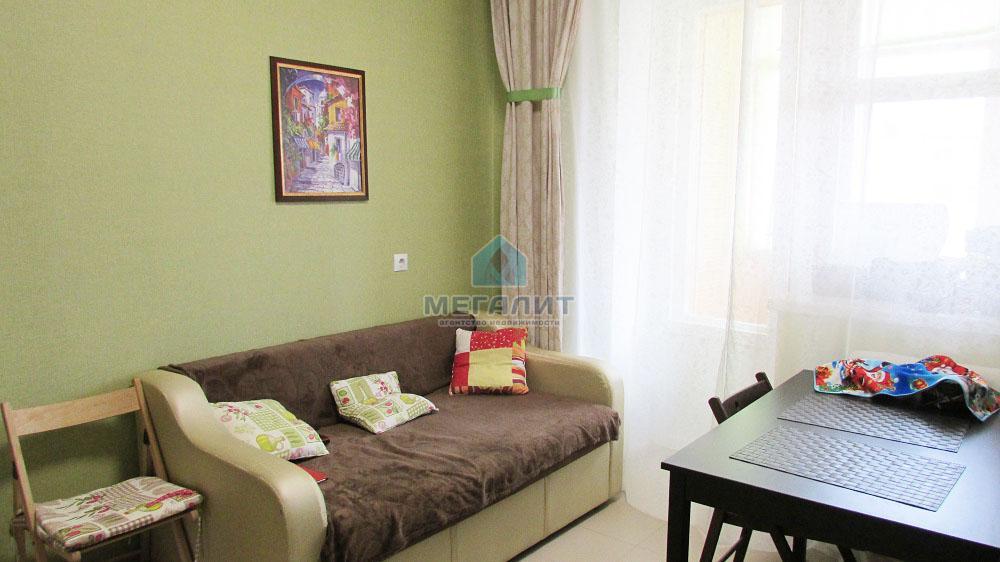 1-комнатная квартира с современным ремонтом в новом доме. (миниатюра №7)