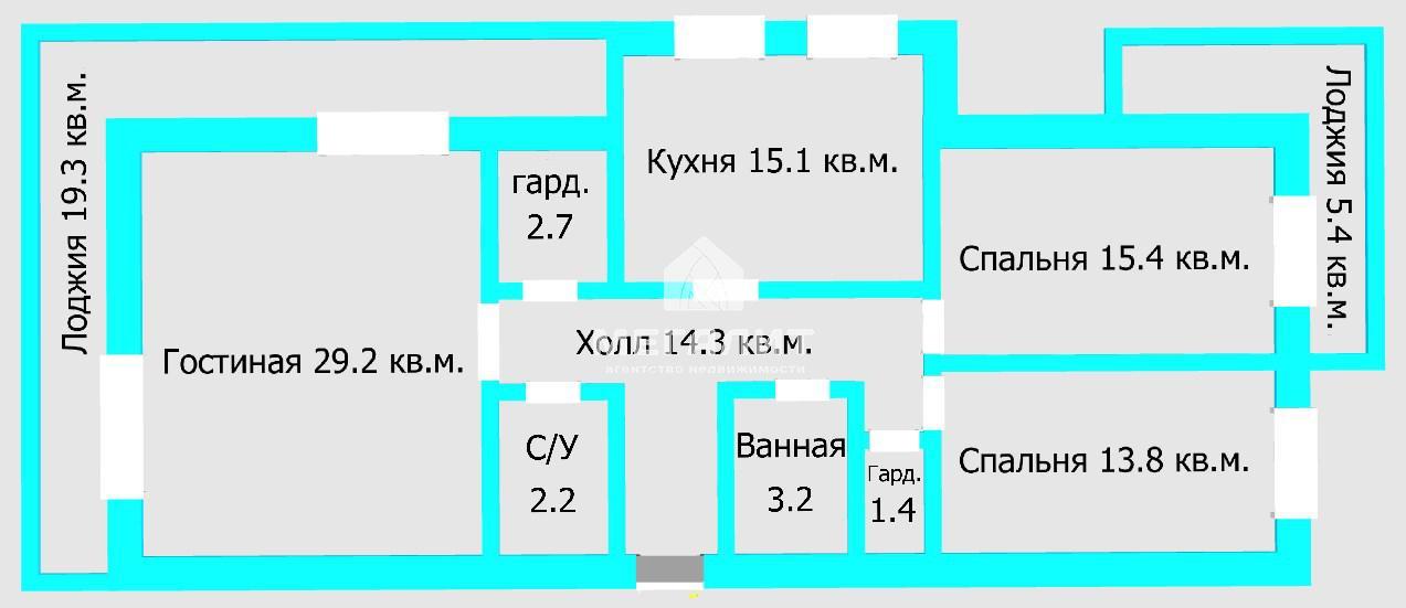 Продажа 3-к квартиры Рихарда Зорге 66 в