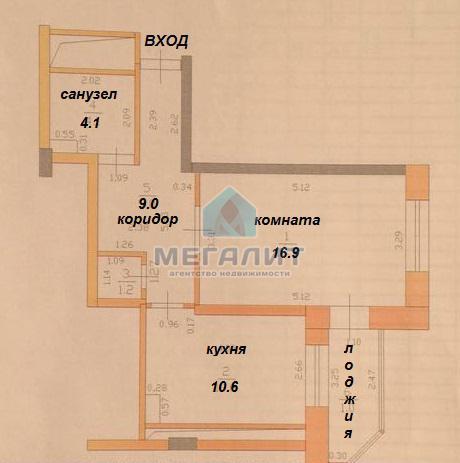 Продажа 1-к квартиры Баки Урманче 8, 43 м²  (миниатюра №7)