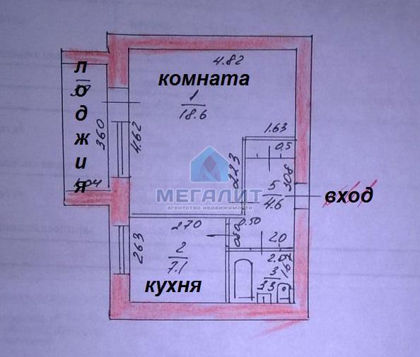 Продажа 1-к квартиры Качалова 120, 36 м2  (миниатюра №9)