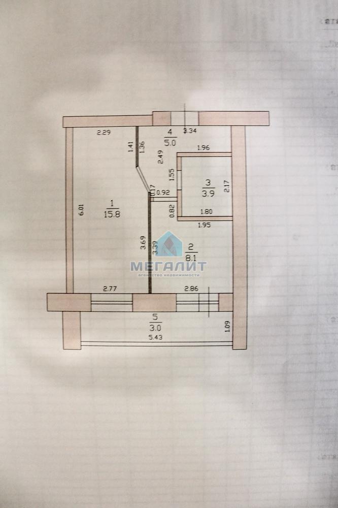Продажа 1-к квартиры Спартаковская 165, 36 м²  (миниатюра №8)