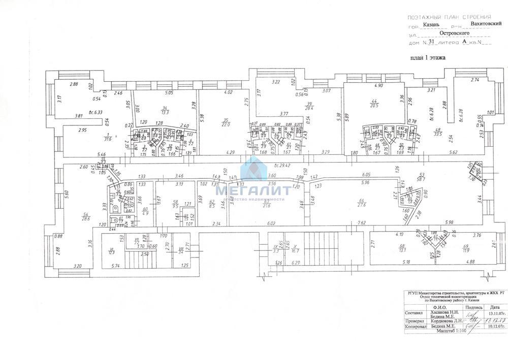 Продажа  помещения свободного назначения Островского 35, 380 м2  (миниатюра №15)