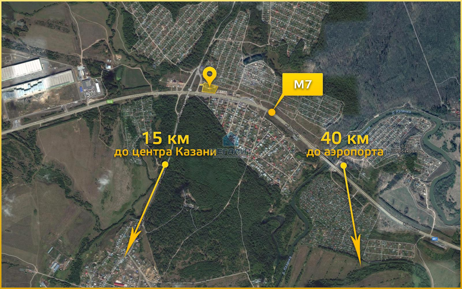 Продажа  участка 818 км а/д м-7 Волга Москва-Казань-Уфа
