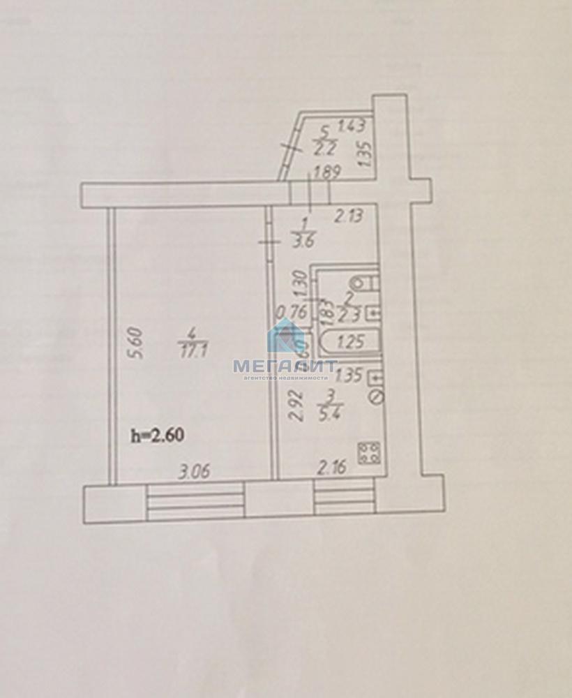 Продажа 1-к квартиры Халезова 21, 28.9 м² (миниатюра №3)