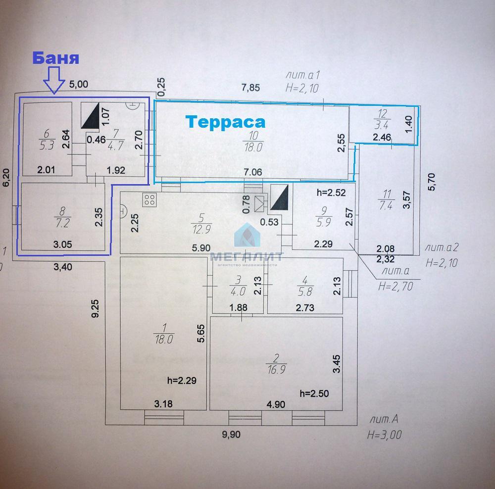 Продажа  дома Семиозерская, 80 м²  (миниатюра №5)
