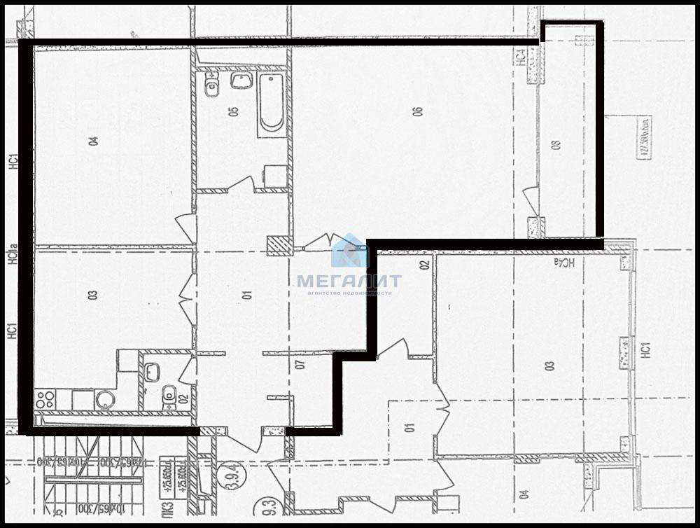 Продажа 2-к квартиры Меридианная 4, 115 м² (миниатюра №10)
