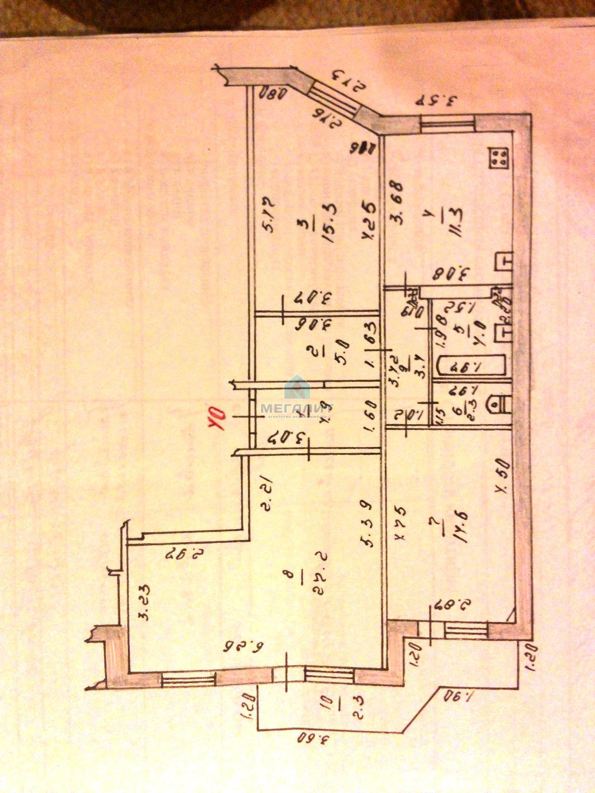 Продажа 3-к квартиры Проспект Победы 144, 90 м² (миниатюра №12)