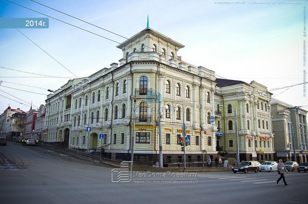Продажа  офисно-торговые Пушкина 52