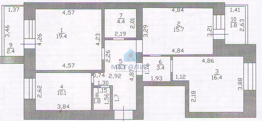Продаю шикарную просторную квартиру! (миниатюра №8)