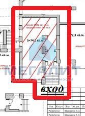Аренда  офисно-торговые Гвардейская 59, 75.0 м² (миниатюра №2)